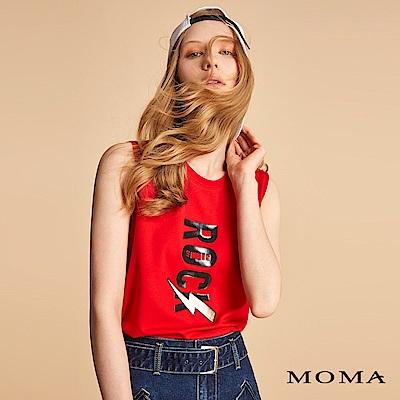 MOMA 搖滾風字母背心