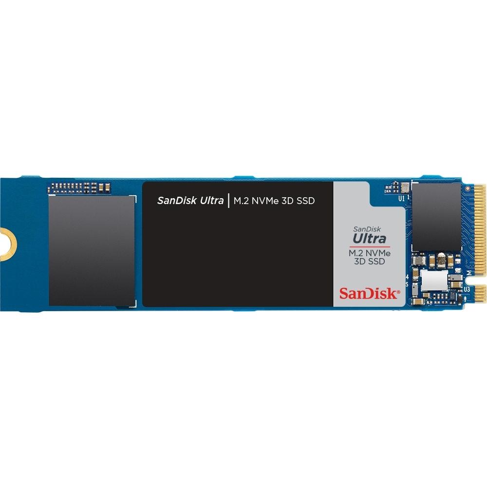 SanDisk Ultra 3D M.2 500GB NVMe SSD固態硬碟