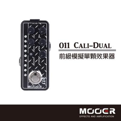 MOOER Cali-Dual前級模擬單顆效果器