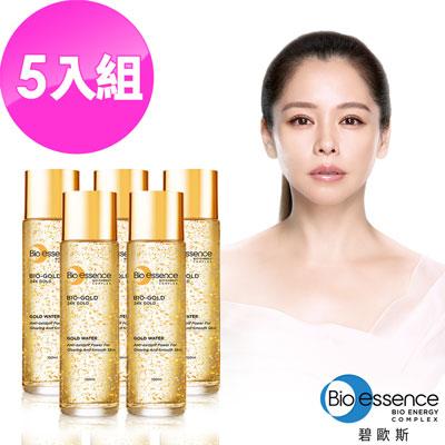 Bio-essence 碧歐斯 BIO金萃黃金精華露100ml(5入組)
