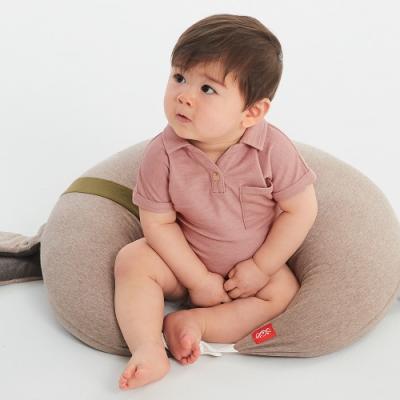 【mamaway 媽媽餵】BABY 快乾POLO包屁衣(共2色)
