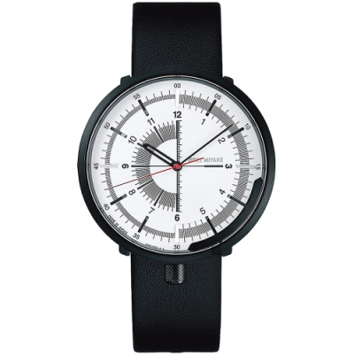 ISSEY MIYAKE 三宅一生 One-Sixth 米蘭帶手錶(NYAK003Y)