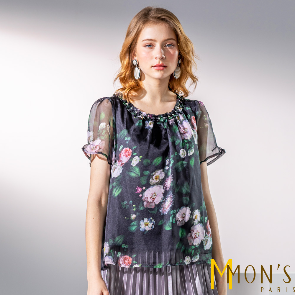 MONS 浪漫晶鑽風格上衣