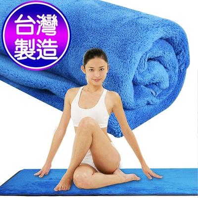 Yenzch 瑜珈超細纖維長毛鋪巾(160x60cm) RM-11139 台灣製