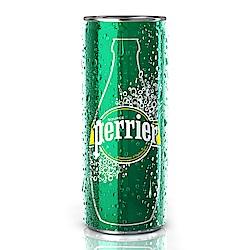 法國Perrier 氣泡天然礦泉水鋁罐(330mlx24入)