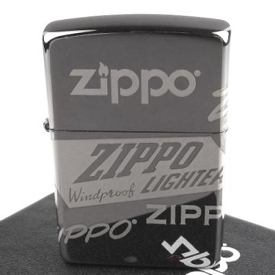 ZIPPO 美系~Logo Design-標誌圖案-4面連續雷射雕刻加工打火機