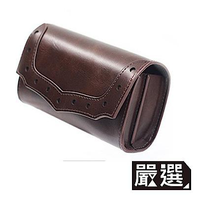 嚴選 專為IQOS設計 真皮質感 電子菸配件全收納磁扣皮套