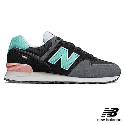 New Balance 復古鞋_ML574UJC_中性_黑色