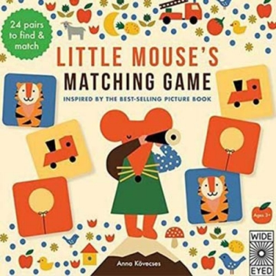 Little Mouse s Matching Game 小老鼠的配對遊戲盒