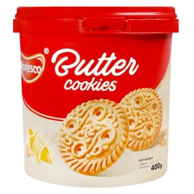PT MONDE 桶裝奶油風味餅乾(400g)