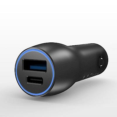 ASUS原廠雙USB車載快速充電器CarCHarger 28W(車充/雙輸出快充)