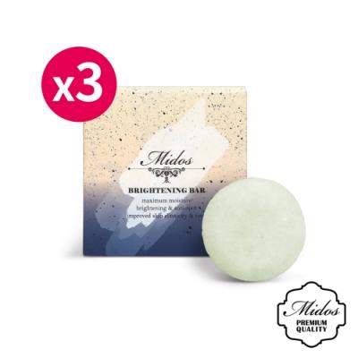 【Midos蜜朵斯】肌膚淨白淡斑皂25gx3
