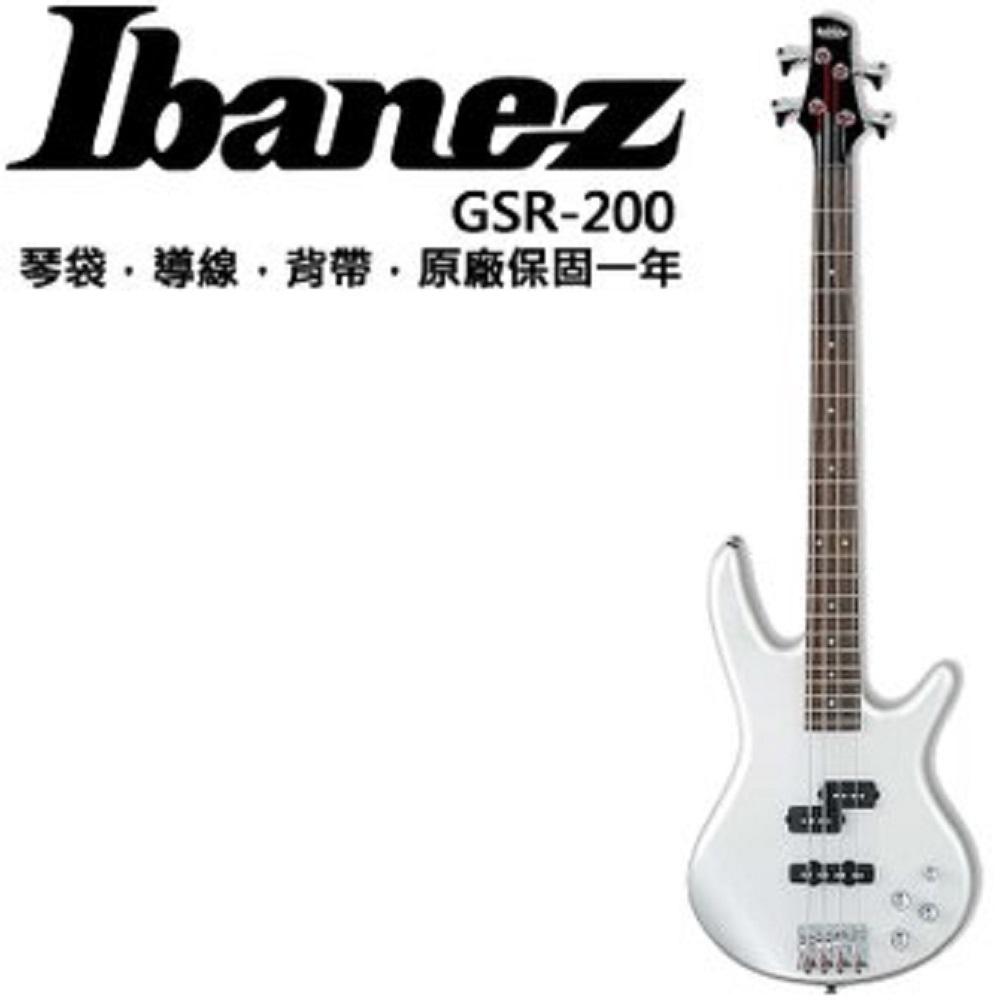 Ibanez GSR-200 電貝斯/主動式Bass/白色