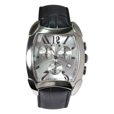 HYUN炫 瑞士機心個性皮革錶