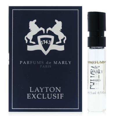 Parfume de Marly Layton Exclusif 林頓獨家淡香精 針管 2ml