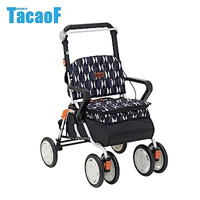 日本TacaoF幸和 標準型助步車-黑色北歐風