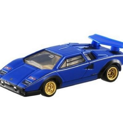 任選TOMICA PREMIUM 10 Countach LP500藍寶堅尼TM82437多美小汽車