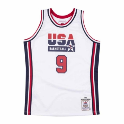 M&N Authentic球員版復古球衣 92 Dream Team #9 Michael Jordan