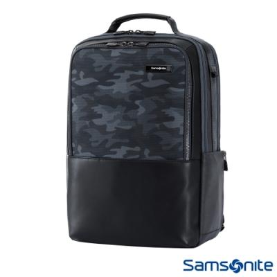Samsonite新秀麗 Sefton商務筆電後背包14(迷彩)
