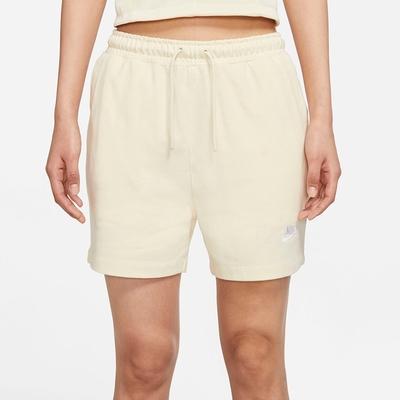 NIKE 短褲  運動短褲 慢跑 女款 米白 CJ3755113 AS W NSW JSY HR SHORT