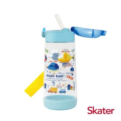 Skater PET吸管水壺(480ml) 直升機