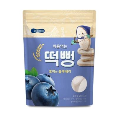 韓國 【BEBECOOK】 嬰幼兒初食綿綿米餅(藍莓)