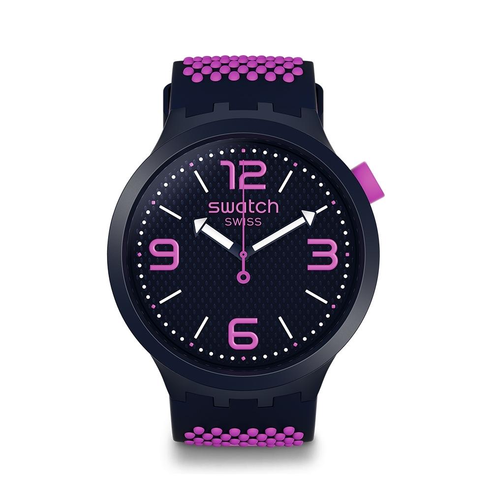 Swatch Big Bold 系列手錶 BBCANDY 蜜糖桃 - 47mm