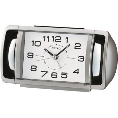 SEIKO 精工 漸進式大聲公鬧鐘(QHK052S)-17.8cm