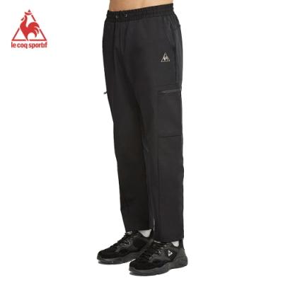 法國公雞牌運動長褲 LWK8140299-男-黑