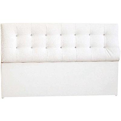 綠活居 莫利時尚3.5尺水鑽皮革單人床頭片(二色可選)-105x20x99cm免組