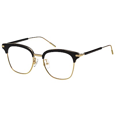 VEDI VERO 眉型框 光學眼鏡 (黑配金)