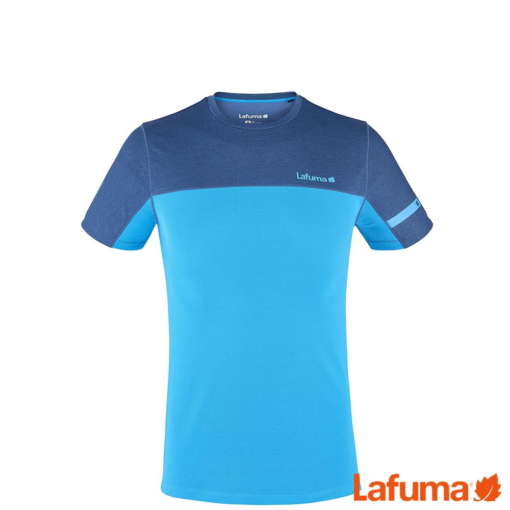 LAFUMA-男SKIM短袖排汗衣-LFV113096730-深藍