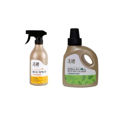 清檜Hinoki Life  防蟑螂螞蟻噴劑+抗菌驅蟲萬用清潔劑(防護雙剋星)