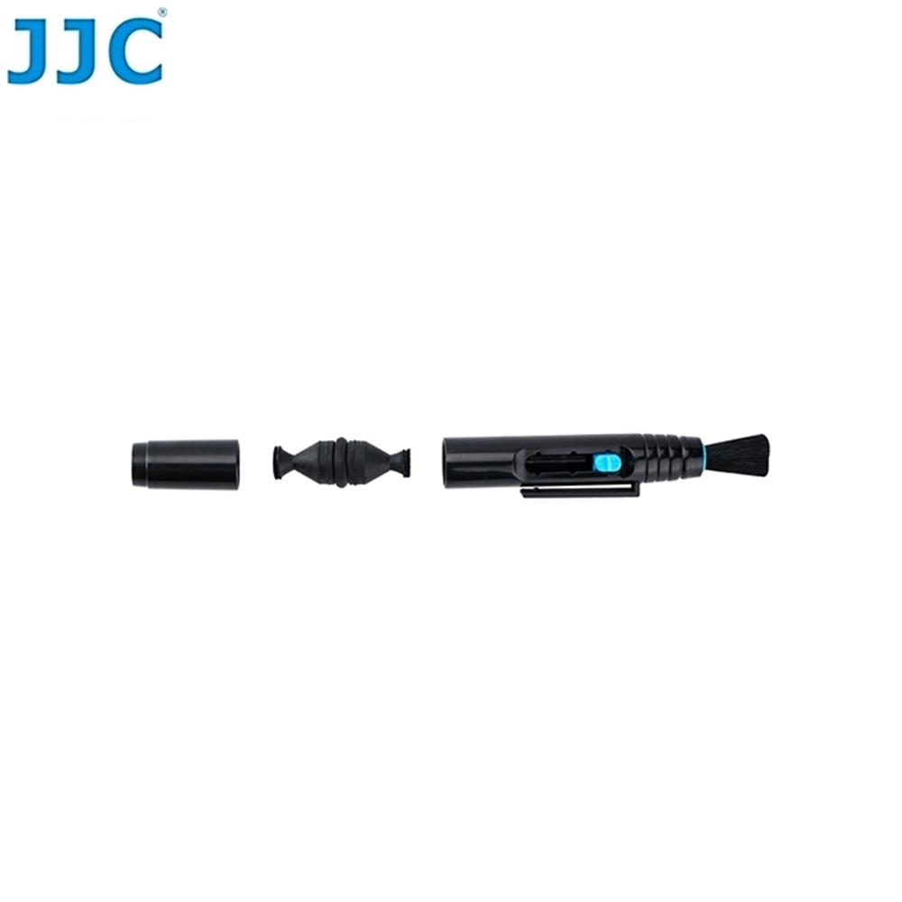 JJC雙碳粉頭鏡頭拭鏡筆LENSPEN(2碳頭:一圓一三角,附鬃毛刷)CL-P4