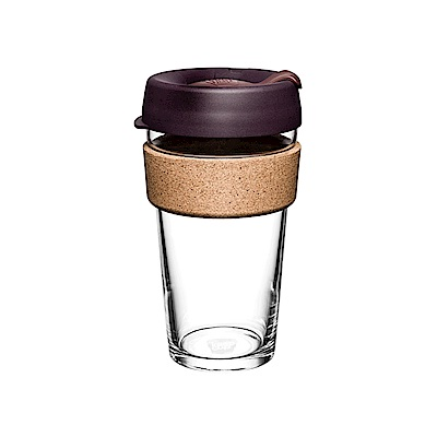 澳洲KeepCup隨身杯 軟木系列454ml/L-甜酒紅(快)