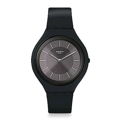 Swatch  SKIN超薄系列 SKINCHARBON 超薄銀碳黑