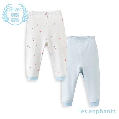 les enphants 精梳棉系列太空兩件組長褲