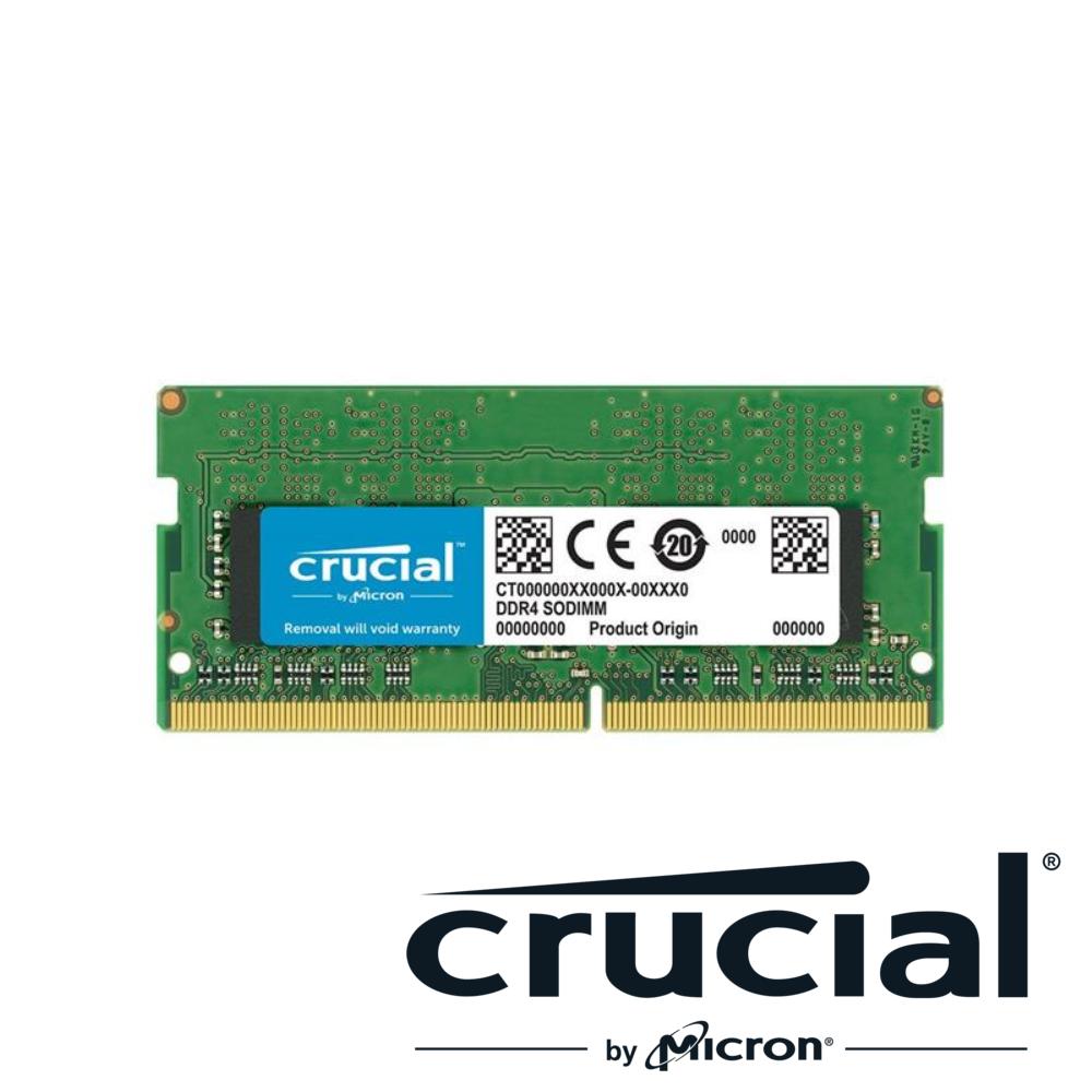 Micron Crucial NB-DDR4 2666/4G 筆記型記憶體(原生顆粒)