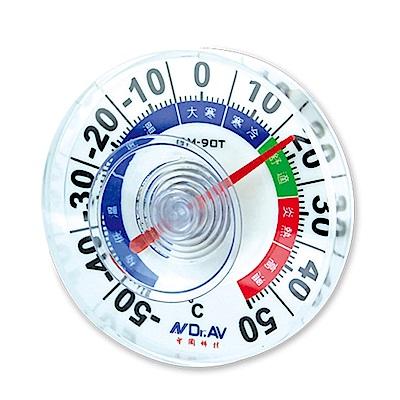 Dr.AV 室外專用防水溫度計/2入(GM-90T)