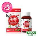 日本味王 蔓越莓口含錠升級版(60粒/盒)x5盒