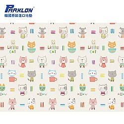 【PARKLON】韓國帕龍無毒地墊 - 單面切邊 - 貓咪