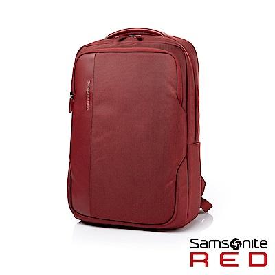 Samsonite RED RAELYN 筆電後背包15吋(紅)