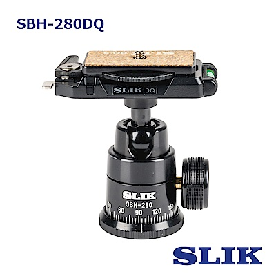 日本 SLIK SBH-280DQ BK 球型雲台
