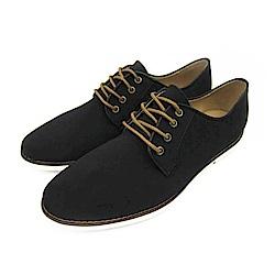 BuyGlasses 獨特風尚麂皮面鞋-黑