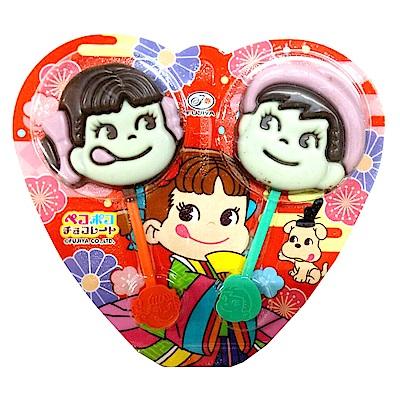 日本不二家可愛娃娃可可糖24g
