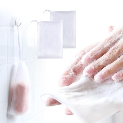 Conalife 可掛式皂類專用雙層起泡網 (15組共30入)