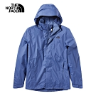 The North Face北面男款藍色防水透氣衝锋衣 3SPIHDC