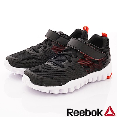 Reebok頂級童鞋 超輕量運動鞋款 SE103黑(中小童段)