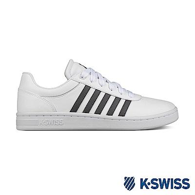 K-Swiss Court Cheswick S休閒運動鞋-男-白/灰