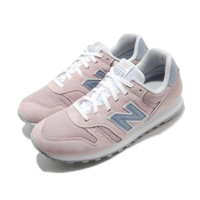 New Balance 休閒鞋 WL373DC2 B 運動 女鞋 紐巴倫 基本款 簡約 麂皮 穿搭 粉 藍 WL373DC2B